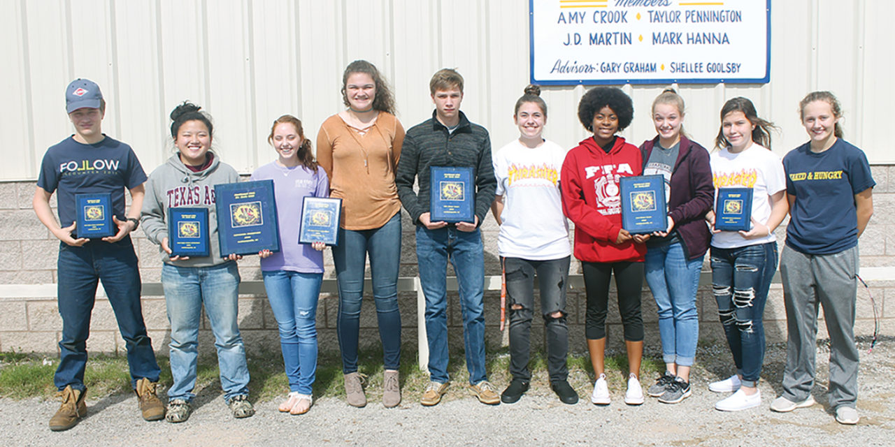 Grapeland FFA Students Excited by National Wins