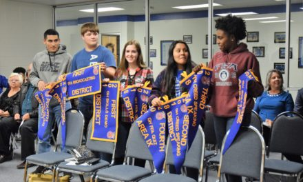 Crockett ISD Recognizes FFA