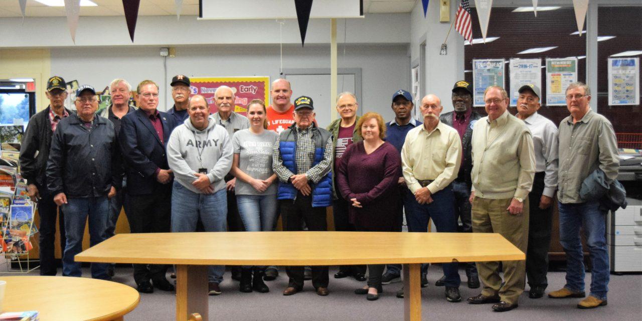 Grapeland ISD Hosts Veterans Prayer Breakfast