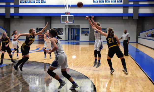 Slocum Lady Mustangs Swat Cayuga Lady Wildcats,60-26