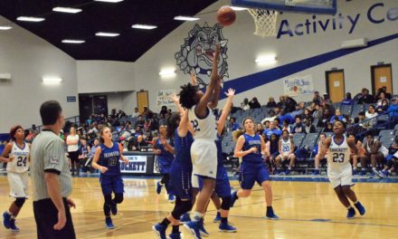 Lady Bulldogs' Comeback Falls Short