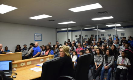 CISD Board Recognizes Students
