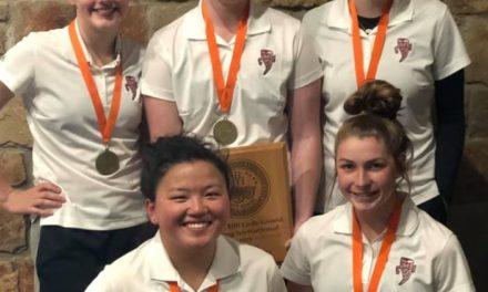 Grapeland Girls' Golf – Still on Top