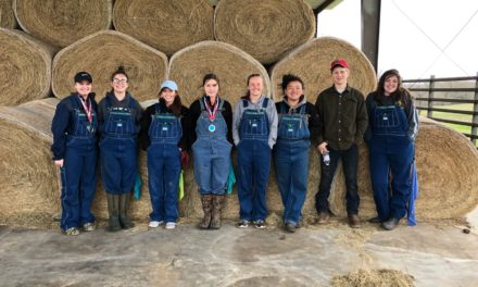 Grapeland FFA Land and Homesite Teams Take Top Honors