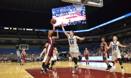 Sandiettes Ride Roughshod over Cowgirls, 61-54