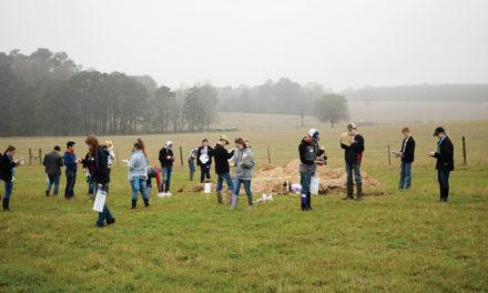Grapeland FFA Hosts Land and Homesite Judging CDE