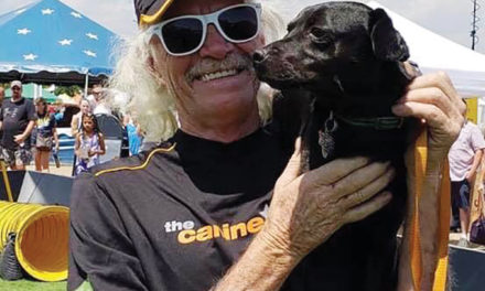 Crockett Rescue Pup Competing in California Competition